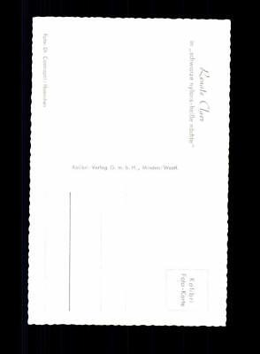 Renate Claer Kolibri Karte 50er Jahre Original Signiert +A 174165