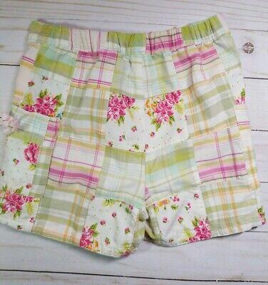 Baby Gap Girls Plaid Madras Shorts Size 18-24M EUC 5