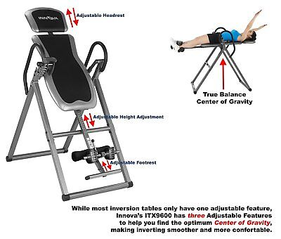 Innova Health and Fitness ITX9600 Heavy Duty Deluxe Inversion Therapy Table 3