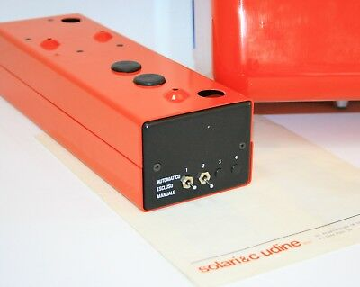 Vintage 1976 Fratelli Solari Udine Flap Clock Time Recorder New In Original Box 5