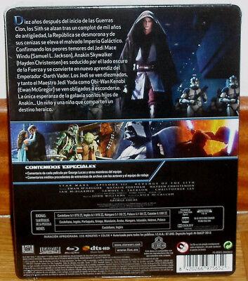 Star Wars la Revanche de Los Sith Neuf Steelbook Blu-Ray Action (sans Ouvrir) R2 2