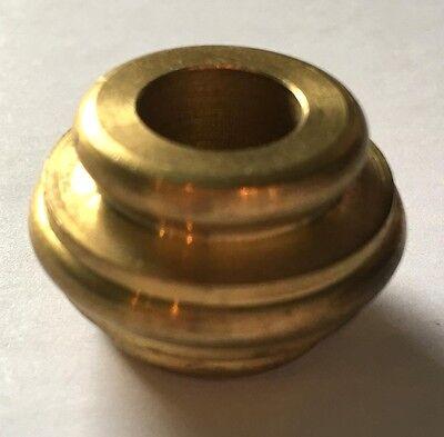 "Lamp Cap New 4 3//4/"" Solid Spun Brass Vase Cap 1//8 IP VC614U Unfinished Brass"