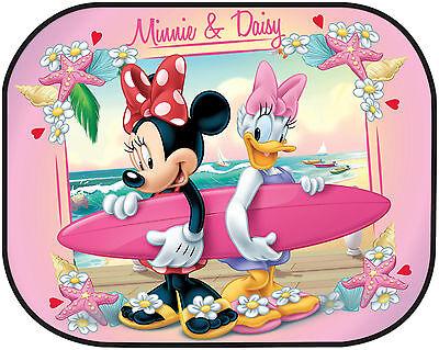2x Disney Car Sun Shade UV Baby Children Kids Window Visor  Cars Peppa Winnie 2