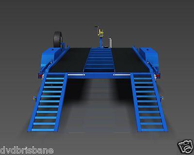 Trailer Plans- 3500KG FLATBED CAR TRAILER PLANS- 4800x1760mm- PRINTED HARDCOPY 4