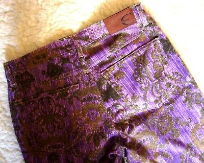 TROUSERS woman vintage 90's JUST CAVALLI  tg.29 circa M made Italy  RARE 6