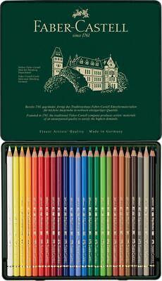 Faber-Castell Polychromos Artists' Colour Pencil 24 Tin Set 2