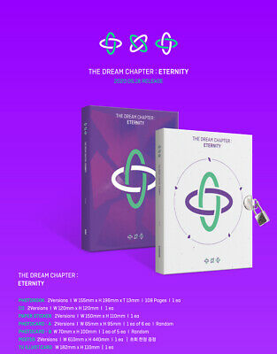 TXT - The Dream Chapter : ETERNITY CD+2Photocards+Poster+Free Gift+Tracking no. 2