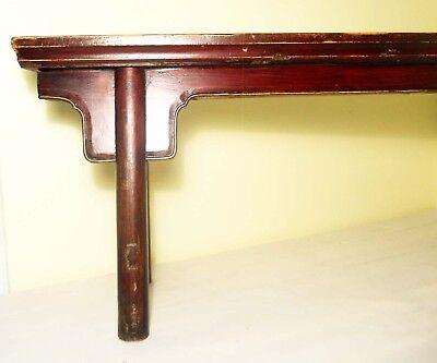 Antique Chinese Ming Bench (Pair)(2855), Circa 1800-1849 8