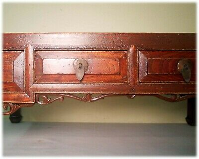 Antique Ming Coffee Table (3233), Zelkova Wood, Circa 1800-1849 3