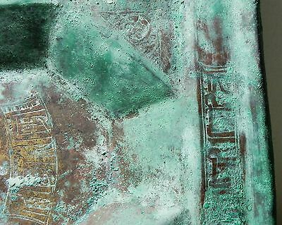 Zurqieh - Beautiful Islamic Bronze Tray, Khorasan , 10Th - 11Th Cent. A.d 5