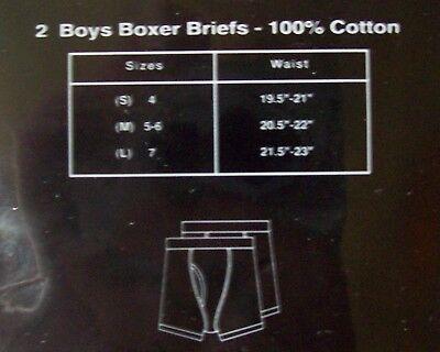 FUBU Boxer Briefs Underwear Underpants 2 Pair Pack Boys S M L The Collection