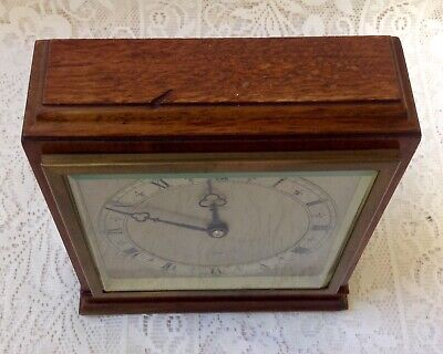 Antique Clock By Morath Bros. Liverpool, Elliot Clock. Made In England. Working 7