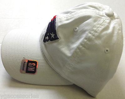 a3684d3a 1 of 4 NFL New England Patriots Reebok Flex Fit Slouch Hat Cap NEW!! 2