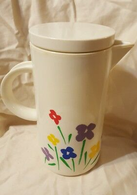 Vintage Coffee/Tea Carafe 1985 Teleflora Gifts 3