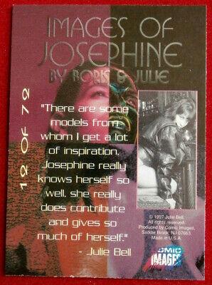 IMAGES OF JOSEPHINE - Individual Card #12 Comic Images - Fantasy Art 2