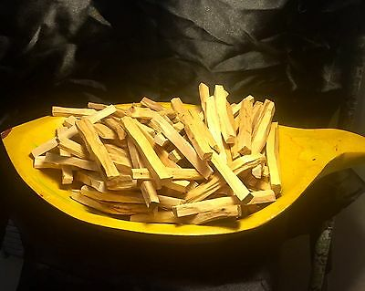 Palo Santo Holy Wood Incense 75 (STICKS APPROX) 1 LB SIZE BAG(4+inches long) 8