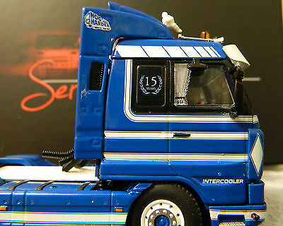 6 Of 10 150 Scale Laser Print Waterslide Decals Truck Curtains Scania Daf