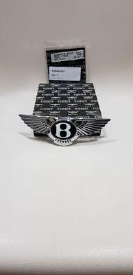 Bentley Continental Gt Gtc Radiator Grill Emblem 2015 Onwards 4