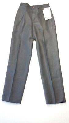 Kinder Jungenhose Cacharel Marke grau 6 Jahre Leinen 118 cm gerade UVP £ 140 4
