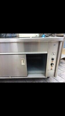Newco Commercial Hot Cupboard Heated Carvery Trolley . 10