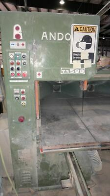 "ANDO TA500 21"" Commercial Band Saw with automated feed table 3"