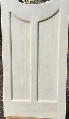 oval 1920 s style door reproduction door remade in reclaimed pine 5