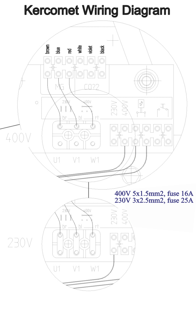 Kercomet 185ed Mig Mag Welder 3 Phase 400v 240v Steel Aluminum 749 00 Picclick Uk