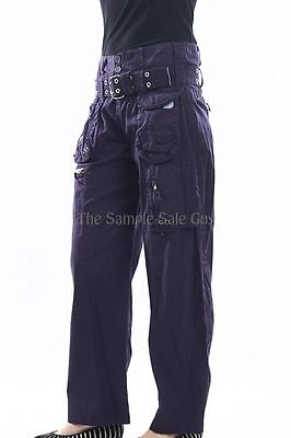 85fca92a3c43 ... Pete and Greta by Johnny Was Poplin Cargo Utility Pants PG2005 NEW  VARIOUS COLOR 8