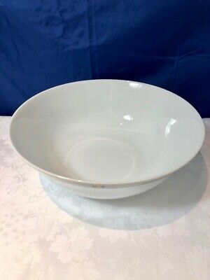 Bernardaud Limoges Porcelain Kent Bleu Saladier / Salad Bowl / Insalatiera NEW 4