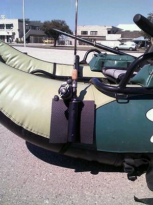 Single Rod/pole Holder For Fishing Float Tube. Spinning Or Casting Rods