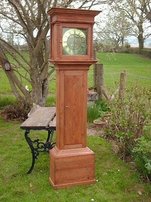 Georgian Grandfather / Longcase Clock By Jackson Of Hexham 9