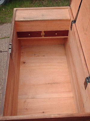 Victorian  Pine  Chest / Bedding  Box 8