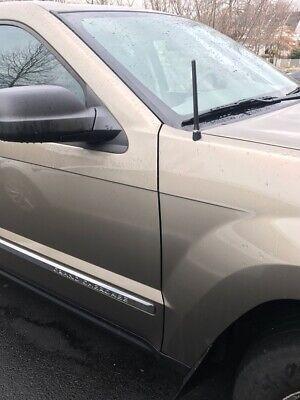 "FITS **SHORT**  4/"" ALUMINUM BLUE ANTENNA MAST 1997-2001 Jeep Cherokee"