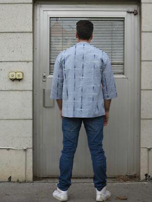 VEB Herrenhemden Blankenburg 41 3/4 Ärmel 80er True VINTAGE 80s men's shirt 41 4