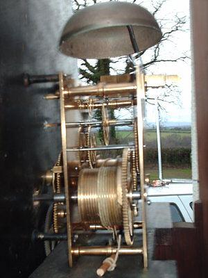 Antique Scottish Grandfather / Longcase Airdrie Clock ( Fair Maid Of Perth ) 11