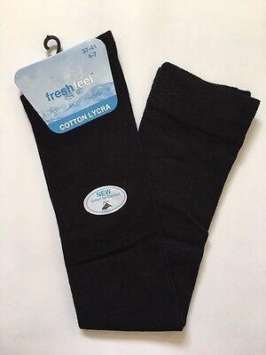 Ladies Over The Knee Cotton Socks Sizes Adult 4-7 UK Girls  Long School Socks 12