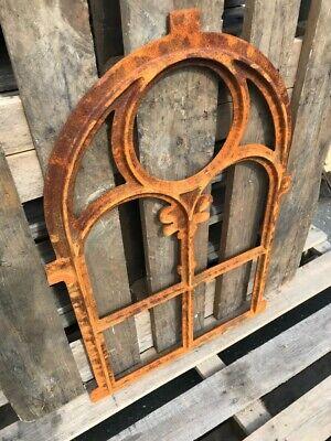 Stallfenster Gussfenster Scheunenfenster rostig antik ländlich H.76cm B.50cm 4