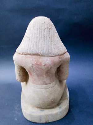 Rare Ancient Egyptian antiques statue scribe Old Kingdom Egypt Stone 2494 BC
