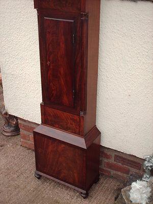 Antique Scottish Grandfather / Longcase Airdrie Clock ( Fair Maid Of Perth ) 7