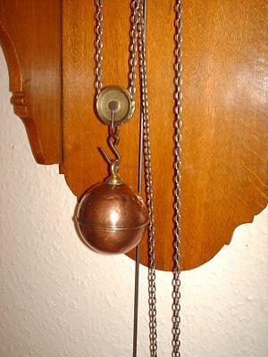 Oak Hooded Wall Clock 6