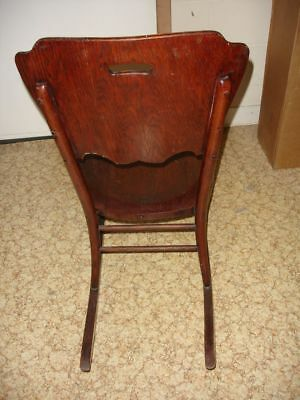 Beautiful Antique Wooden Rocking Chair 6