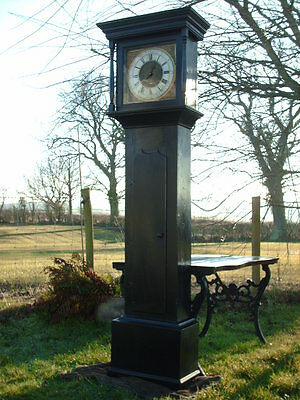 Antique Sill Of Wigton  Grandfather / Longcase Clock 8