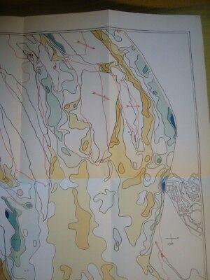 Vintage Comparison Of Plans The Beira Port 1931-1956 Proximal Scale VGC