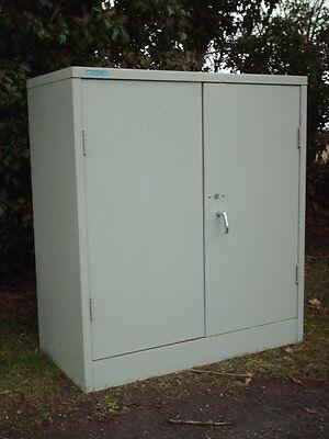 Vintage Steel Cabinet / Cupboard 3
