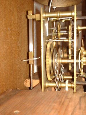 Oak Hooded Wall Clock 8