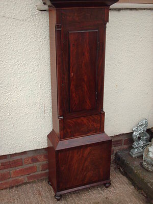 Antique Scottish Grandfather / Longcase Airdrie Clock ( Fair Maid Of Perth ) 6