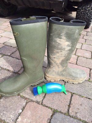 Football Boot Buddy Cleaner Shoe Brush Washer Wellington Rugby Hiking Golf Mud 5