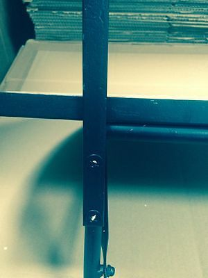 balkon klapptisch mosaik halbrund kleiner balkontisch tisch klappbar ravenna neu eur 39 90. Black Bedroom Furniture Sets. Home Design Ideas