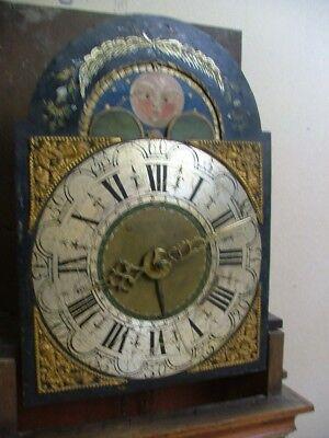 FRIESLAND DUTCH WALL CLOCK. RARE ANTIQUE c1790 2