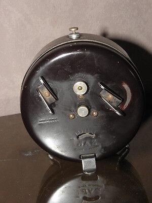 vintage clock alarm jaz retro desk  Art Deco design  Mechanics uhr old french 2